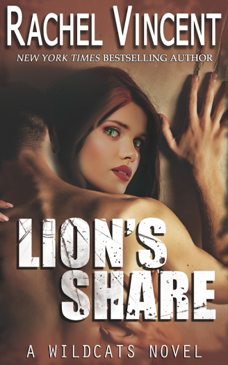 Cover Reveal #Giveaway LION'S SHARE by RACHEL VINCENT @rachelkvincent