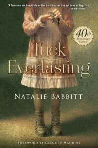 TUCK EVERLASTING by NATALIE BABBITT 40TH Anniversery Tour Giveaway  #Tuck40th @MacKidsBooks