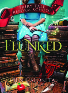 #Giveaway Interview FLUNKED by JEN CALONITA @JenCalonita @JabberwockyKids