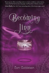 #Giveaway Interview BECOMING JINN by LORI GOLDSTEIN @loriagoldstein