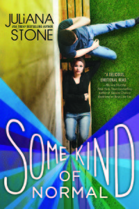 #Giveaway Interview SOME KIND OF NORMAL by JULIANA STONE @Juliana_Stone @sourcebooksfire