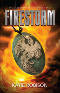 #Giveaway Interview FIRESTORM by Katie Robinson @KatieARobison