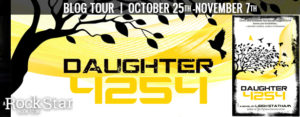 $25 #Giveaway Interview DAUGHTER 4254 by Leigh Statham @LeighStatham @owlhollowpress