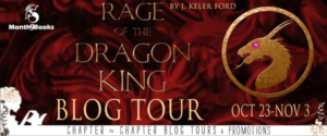 Kindle #Giveaway PLAYLIST Rage of the Dragon King by J. Keller Ford @jkellerford @Month9Books 11.10