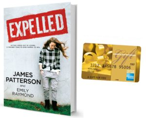 $50 #Giveaway Social Media & EXPELLED by @JP_Books #GetExpelled from @JIMMY_books 11.1