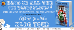 #Giveaway Andrew Buckley's 10 Fav Books #win The Perils of Growing Up Werewolf @abuckley23 @TantrumBooks 10.28
