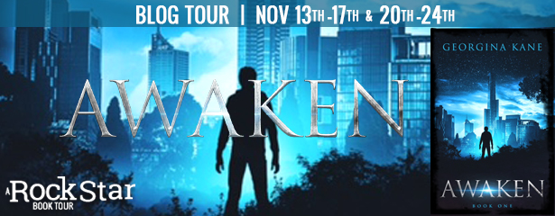 3 winners will receive a $25 Amazon Gift Card, US Only. 3 winners will receive a signed finished copy of AWAKEN, US Only.