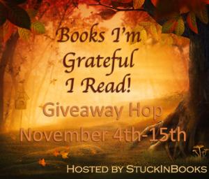 YA Books I'm Grateful I Read #Giveaway Hop #win 3 ARCs