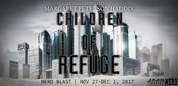 15 Winners will receive a CopyofCHILDRENOFREFUGEby Margaret Peterson Haddix.