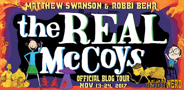 20 Winners will receive a Copy of THE REAL MCCOYS by Matthew Swanson and Robbi Behr.