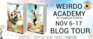 #Giveaway WEIRDO ACADEMY SERIES by CHARLES CURTIS @bycharlescurtis @TantrumBooks 11.24