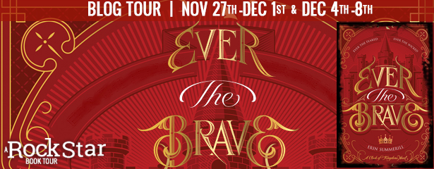 3 winners will receive a finished copy of EVER THE BRAVE, US Only.