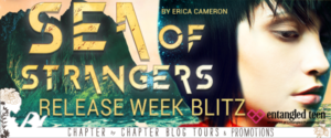$20 #Giveaway What's on ERICA CAMERON's Nightstand? #Win Sea of Strangers @ByEricaCameron @EntangledTeen Ends 12.29