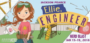 #Giveaway ELLIE, ENGINEER by Jackson Pearce @JacksonPearce @bloomsburykids ‏Ends 2.9