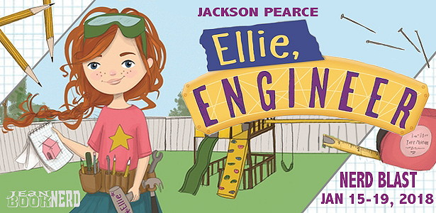 - 10 Winners will receive a Copy of ELLIE, ENGINEER by Jackson Pearce.