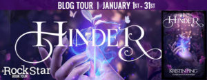 #Giveaway Review HINDER by Kristin Ping @authorKristinP @Firequillpublis ‏