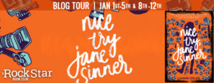 #Giveaway What is LIANNE OELKE'S Favorite Word? #win NICE TRY JANE SINNER by @lianneoelke @HMHteen Ends 1.15