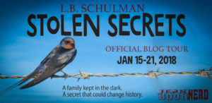 #Giveaway Interview STOLEN SECRETS by L.B. Schulman @lbschulman Ends 2.5