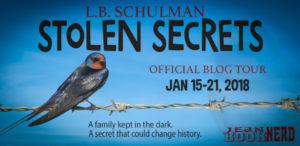#Giveaway Interview STOLENSECRETSby L.B.Schulman @lbschulman Ends 2.5