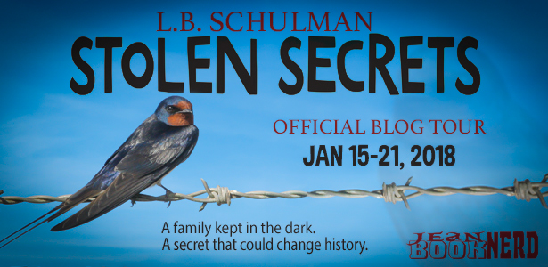 1 Winner will receive a STOLEN SECRETS Swag (Signed Copy, Bookmark, Pen & More) by L.B. Schulman.