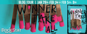 #Giveaway Interview WINNER TAKE ALL by Laurie Devore @laurie_devore @FierceReads Ends 2.13