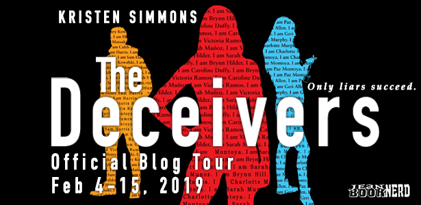 Giveaway Review The Deceivers By Kristen Simmons