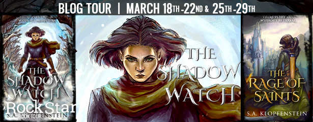 THE SHADOW WATCH & THE RAGE OF SAINTS, US Only.