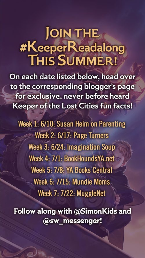One Set of the KEEPER OF LOST CITIES Books - US Only