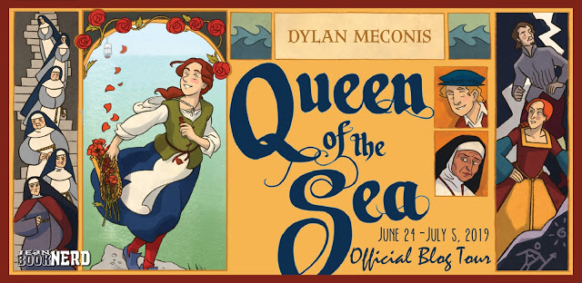 5 Winners will receive a Copy of QUEEN OF THE SEA by Dylan Meconis.