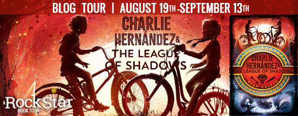 (1) hardcover of CHARLIE HERNANDEZ AND THE LEAGUE OF SHADOWS, US ONLY