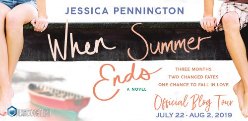 10 Winners will receive a Copy of WHEN SUMMER ENDS by Jessica Pennington.