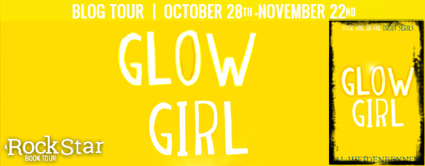 (50) ebook of GLOW GIRL, International. Via Goodreads