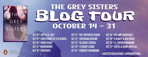 Blog Tour & Interview The Grey Sisters by Jo Treggiari @jotreggiari @PenguinTeen #Penguin10