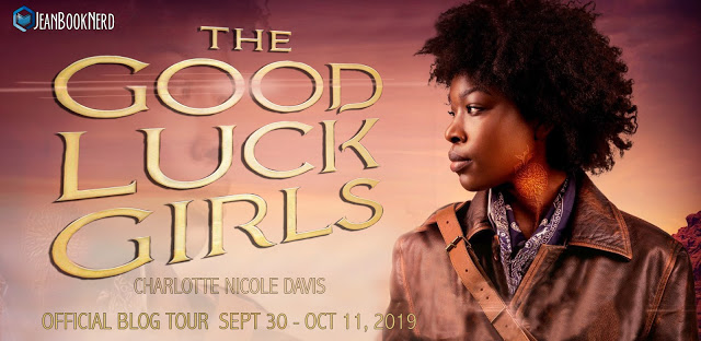 5 Winners will receive a Copy of THE GOOD LUCK GIRLS by Charlotte Nicole Davis.