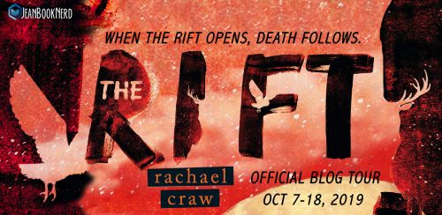 5 Winners will receive a Copy of THE RIFT by Rachael Craw.