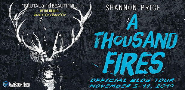 (6) copies A THOUSAND FIRES by Shannon Price.