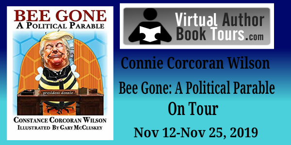 #Giveaway Review Bee Gone and Christmas Cats Flee the Bee by Constance Corcoran Wilson, Gary McCluskey  Ends 11.29