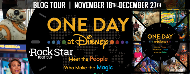 3 winners will win a finished copy of ONE DAY AT DISNEY, US Only.