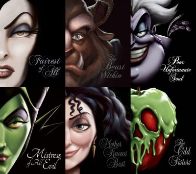 (1 Set) THE VILLAINS SERIES by Serena Valentino