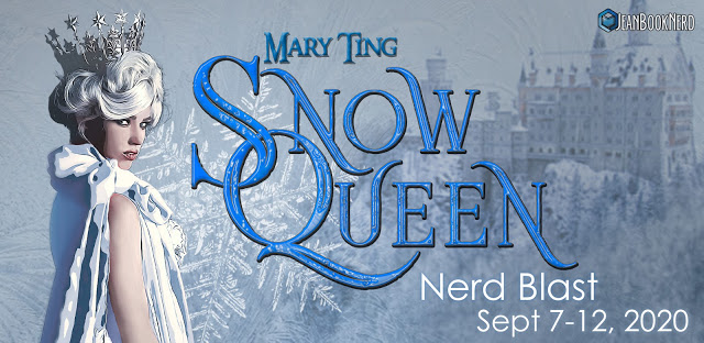 1 - SNOW QUEEN Swag (Book, Bookplate, Mask, Postcard) by Mary Ting. - 1 $20 Amazon Gift Card