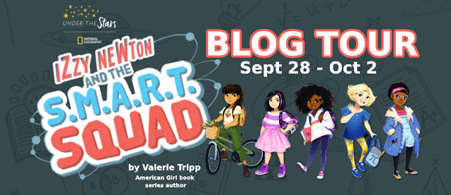 Izzy Newton and the S.M.A.R.T. Squad: Absolute Hero SIGNED by Valerie Tripp