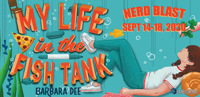 (5) MY LIFE IN THE FISH TANK by Barbara Dee.