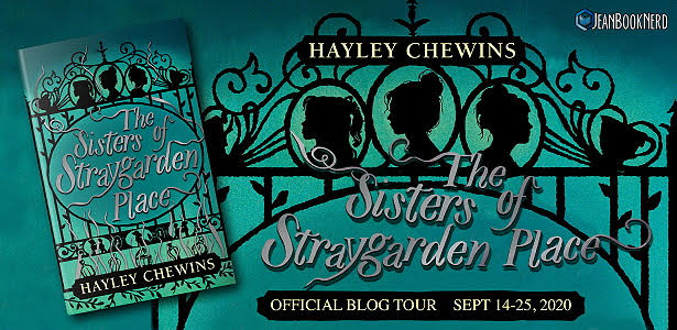 (5) The Sisters of Straygarden Place by Hayley Chewins.