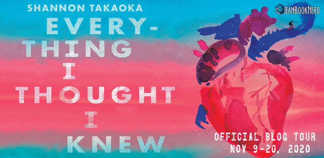 10 Winners will receive a Copy of EVERYTHING I THOUGHT I KNEW by Shannon Takaoka - 1 Winner will receive EVERYTHING I THOUGHT I KNEW Storytellers BOX