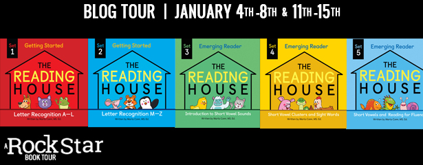 3 winners will win a finished copy of THE READING HOUSE SETS 1 & 2, US Only.