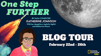 (US/Can) Hardcover of ONE STEP FURTHER by Katherine Johnson SIGNED by her daughters/coauthors