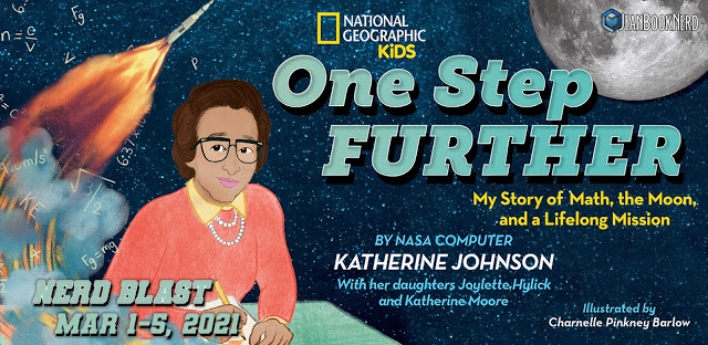 5 Winners will receive a Copy of One Step Further: My Story of Math, the Moon, and a Lifelong Mission by Katherine G. Johnson, Joylette Hylick, Katherine G. Moore.
