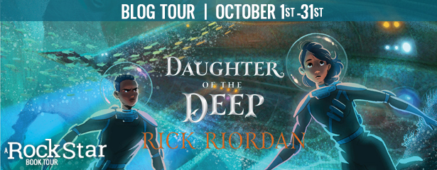 DAUGHTER OF THE DEEP, US Only. a Rafflecopter giveaway